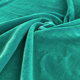 Silk Rayon Velvet - Iridescent Sea Green | Blackbird Fabrics