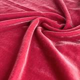 Silk Rayon Velvet - Raspberry | Blackbird Fabrics