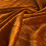 Silk Rayon Velvet - Iridescent Toffee | Blackbird Fabrics