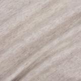 100% Organic Cotton Jersey Knit - Heather Oatmeal | Blackbird Fabrics