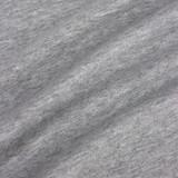 100% Organic Cotton Jersey Knit - Heather Grey   Blackbird Fabrics