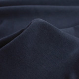 100% Organic Cotton Jersey Knit - Navy | Blackbird Fabrics