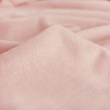 Bamboo & Cotton Sweatshirt Fleece - Pale Pink | Blackbird Fabrics