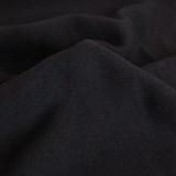 Bamboo & Cotton Sweatshirt Fleece - Black | Blackbird Fabrics