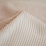 Bamboo & Cotton Sweatshirt Ribbing - Ivory | Blackbird Fabrics