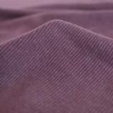Bamboo & Cotton Sweatshirt Ribbing - Grape | Blackbird Fabrics