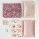 Lace Bra Kit - Dusty Rose | Blackbird Fabrics