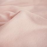 Bamboo & Cotton Sweatshirt Ribbing - Pale Pink | Blackbird Fabrics
