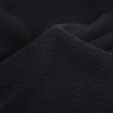 Bamboo & Cotton Sweatshirt Ribbing - Black | Blackbird Fabrics