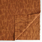 Textured Cotton Viscose Jacquard - Toffee | Blackbird Fabrics