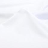 Cotton Jersey Knit - White | Blackbird Fabrics