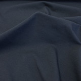 Cotton Jersey Knit - Navy | Blackbird Fabrics