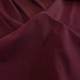 Cotton Jersey Knit - Merlot | Blackbird Fabric