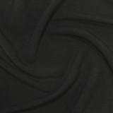 Viscose Linen Slub - Black | Blackbird Fabrics