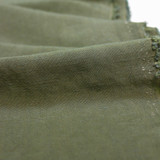 Viscose Linen Slub - Olive | Blackbird Fabrics
