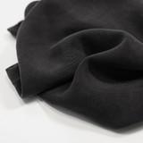 Textured Rayon Cupro - Black | Blackbird Fabrics