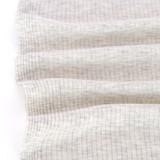 Medium Weight Bamboo Rib Knit - Light Heather Grey | Blackbird Fabrics