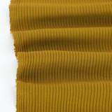 Medium Weight Bamboo Rib Knit - Vintage Gold | Blackbird Fabrics