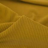 Medium Weight Bamboo Rib Knit - Vintage Gold   Blackbird Fabrics