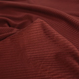 Medium Weight Bamboo Rib Knit - Spice | Blackbird Fabrics