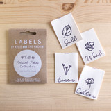 NATURAL FIBRES COLLECTION Woven Labels by Kylie and the Machine | Blackbird Fabrics