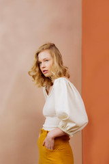 Adrienne Blouse by Friday Pattern Company | Blackbird Fabrics