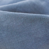 Lightweight Washed Linen - Denim - 1/2 meter