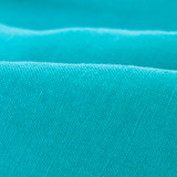 Lightweight Washed Linen - Aqua | Blackbird Fabrics