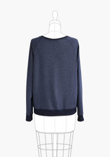 Linden Sweatshirt by Grainline Studio | Blackbird Fabrics