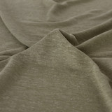 Linen & Rayon Jersey Knit - Light Olive | Blackbird Fabrics