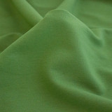 Bamboo & Cotton Stretch Fleece - Leaf Green | Blackbird Fabrics