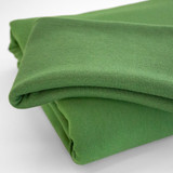 Bamboo & Cotton Stretch Fleece - Leaf Green - 1/2 meter