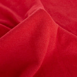 Bamboo & Cotton 2x2 Ribbing - Classic Red | Blackbird Fabrics