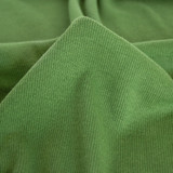 Bamboo & Cotton 2x2 Ribbing - Leaf Green | Blackbird Fabrics