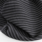 Striped Linen - Charcoal/Grey | Blackbird Fabrics