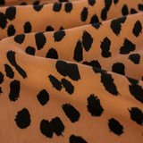 Painted Spots Printed Tencel - Copper/Black | Blackbird Fabrics