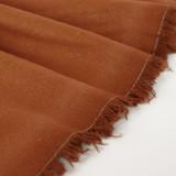 Raw Silk Noil - Teak | Blackbird Fabrics