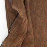 Striped Linen Gauze - Ochre/Black | Blackbird Fabrics
