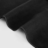 6.5oz Linen - Black | Blackbird Fabrics