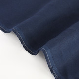6.5oz Linen - Navy | Blackbird Fabrics
