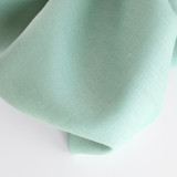 6.5oz Linen - Pale Turquoise | Blackbird Fabrics