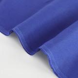 6.5oz Linen - Electric Blue | Blackbird Fabrics