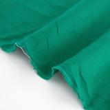 6.5oz Linen - Viridian Green | Blackbird Fabrics