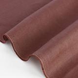 6.5oz Linen - Deep Mauve | Blackbird Fabrics