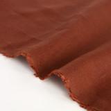 6.5oz Linen - Brick | Blackbird Fabrics