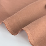 6.5oz Linen - Rose Dust | Blackbird Fabrics