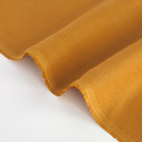 6.5oz Linen - Ochre | Blackbird Fabrics