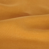 6.5oz Linen - Ochre   Blackbird Fabrics
