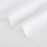6.5oz Linen - White | Blackbird Fabrics