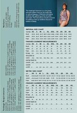 The Seabright Swimmer by Friday Pattern Company | Blackbird Fabrics